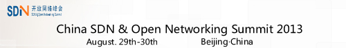 SDN & Open Networking Summit 2013