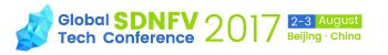 Global SDNFV Tech Conference 2017